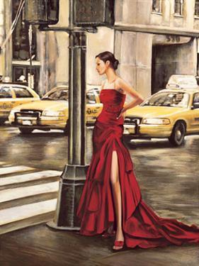 Woman in New York by Edoardo Rovere