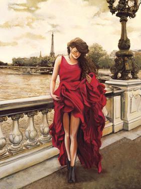 Woman in Paris by Edoardo Rovere