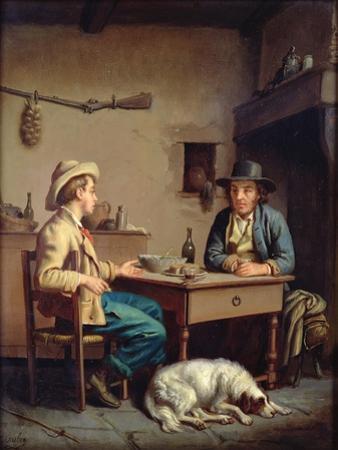 Interior of a Peasant's Cottage, C.1903