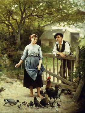 Young Farmers by Edouard Debat-Ponsan