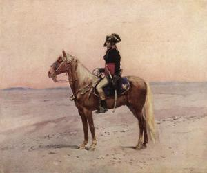 Napoleon I During the Egyptian Campaign 1798 by Edouard Detaille