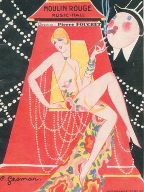 1925 Moulin Rouge programme ça c'est paris by Edouard Halouze
