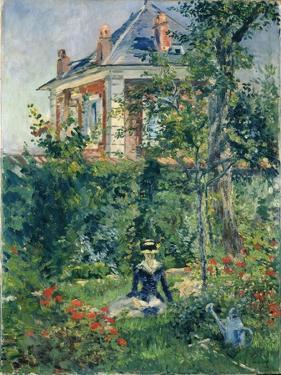 A Garden Nook at Bellevue, 1880 by Edouard Manet