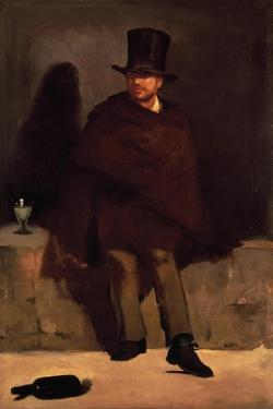 Absinthe Drinker, 1859 by Edouard Manet