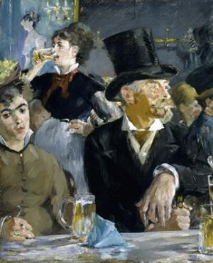 At the Caf' by Edouard Manet