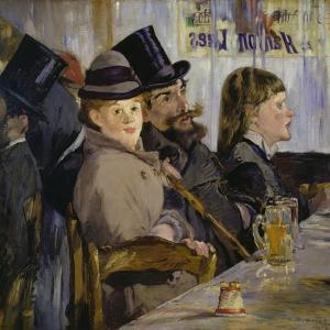 At the Cafe, 1878 by Edouard Manet