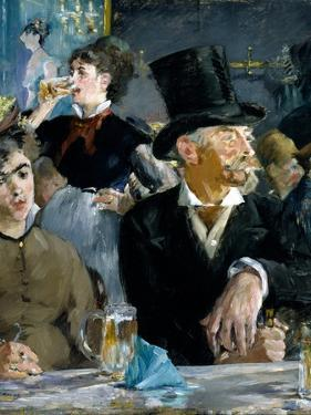At the Cafe, C.1879 by Edouard Manet