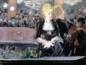 Bar at Folies Bergere, 1881 by Edouard Manet