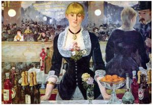 Edouard Manet (Bar in the Folies-Bergère) Art Poster Print