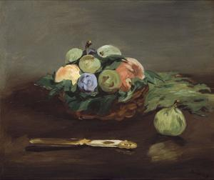 Basket of Fruit, about 1864 by Edouard Manet