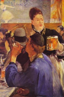 Beer Waitress by Edouard Manet