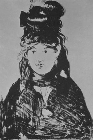 'Berthe Morisot', c. 1870s, (1946) by Edouard Manet