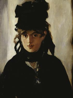Berthe Morisot, c.1872 by Edouard Manet