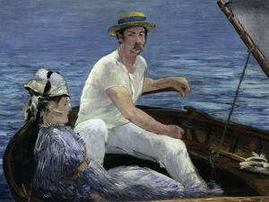 Boating, 1874 by Edouard Manet