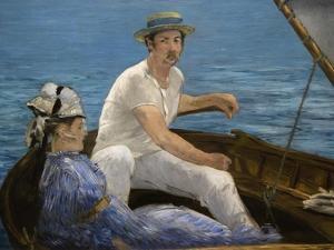 Boating by Edouard Manet