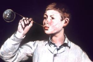 Boy Blowing Bubbles, Detail, 1867 by Edouard Manet