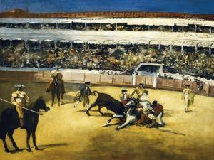 Bull Fight by Edouard Manet