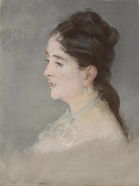 Claire Campbell, 1882 by Edouard Manet by Edouard Manet