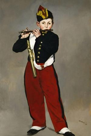 Édouard Manet / The Fife Player, 1866 by Edouard Manet