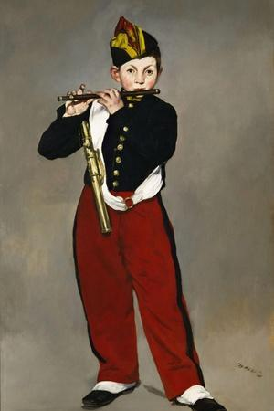 Édouard Manet / The Fife Player, 1866