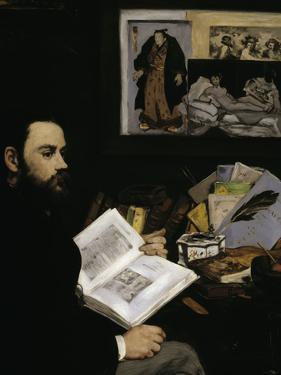 Emile Zola, c.1868 by Edouard Manet