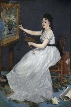Eva Gonzales by Edouard Manet by Edouard Manet