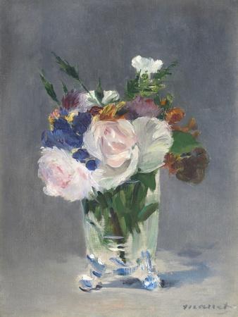 Flowers in a Crystal Vase, 1882