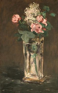 Flowers in a Vase, c.1882 by Edouard Manet