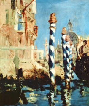 Grand Canal, Venice by Edouard Manet