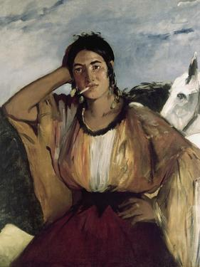 Gypsy with a Cigarette by Edouard Manet