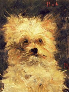 "Head of a Dog - ""Bob"", 1876 by Edouard Manet"