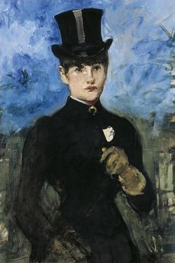 Horsewoman, Fullface, C. 1882 by Edouard Manet