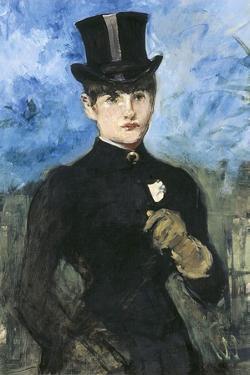 Horsewoman, Fullface by Edouard Manet