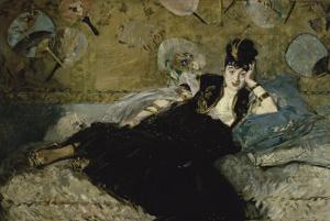 La Dame Aux Eventails by Edouard Manet
