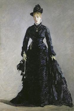 La Parisienne by Edouard Manet by Edouard Manet