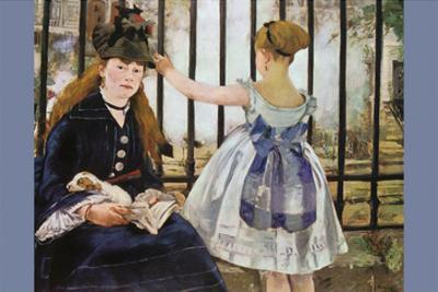 Le Chemin De Fer by Edouard Manet