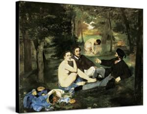 Le Déjeuner Sur L'Herbe (Luncheon on the Grass) by Edouard Manet