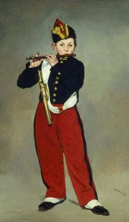 Le Fifre (The Fifer), 1866 by Edouard Manet