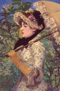 Le Printemps by Edouard Manet
