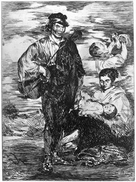 Les Gitanos, (The Gypsie), C1850-1880 by Edouard Manet