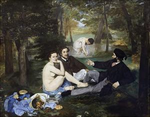 Luncheon on the Grass, 1863 by Edouard Manet