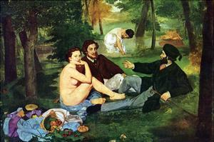 Luncheon on the Grass by Edouard Manet