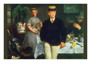 Luncheon by Edouard Manet