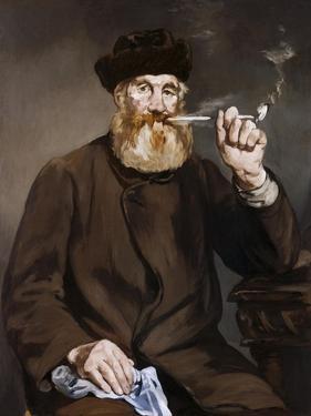 Man Smoking a Pipe by Edouard Manet
