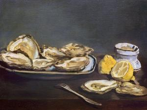 Manet: Oysters, 1862 by Edouard Manet