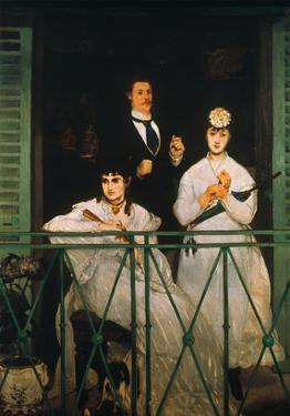 Manet: The Balcony, 1869 by Edouard Manet