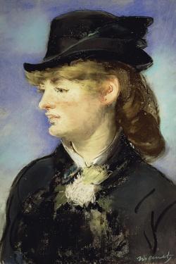 Model at Bar at Folies Bergeres by Edouard Manet