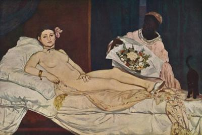 'Olympia', 1863 by Edouard Manet