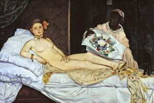 Olympia, c.1863 by Edouard Manet
