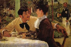 P? Lathuille by Edouard Manet